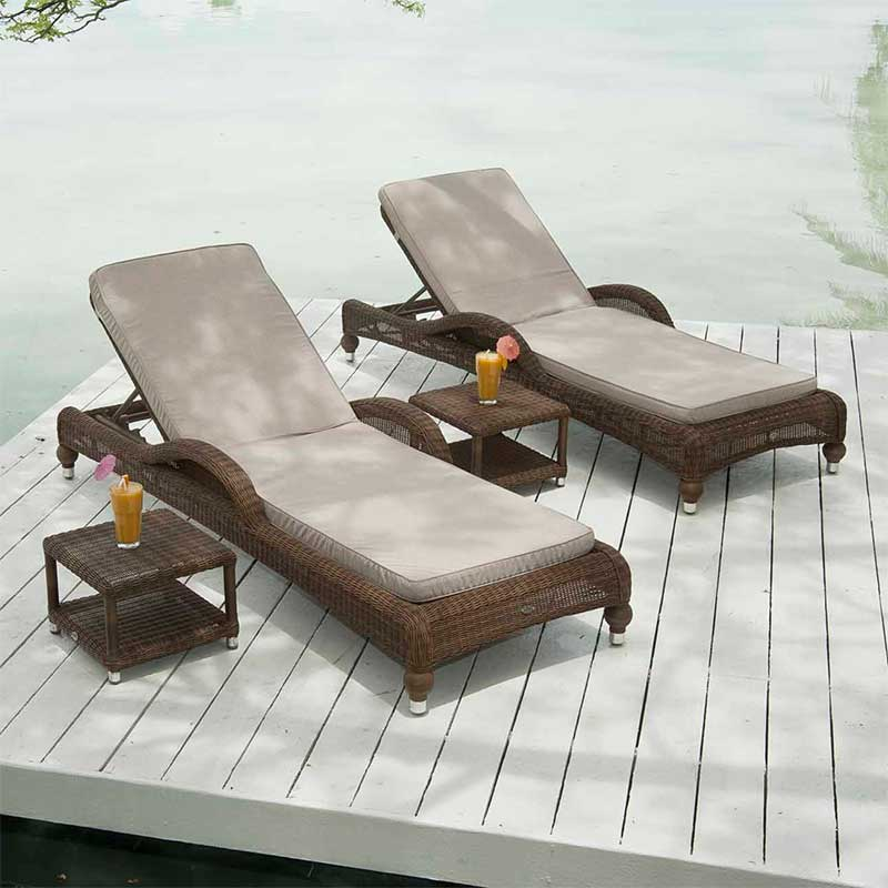 Alexander rose colonial sunbed for Alexander rose colonial chaise lounge