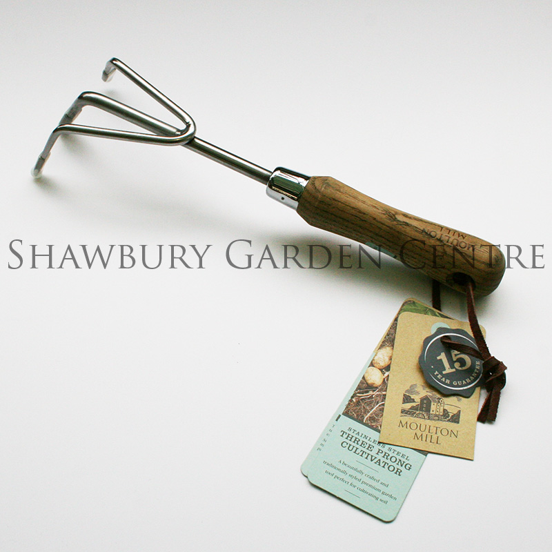 Picture of Moulton Mill Stainless Steel 3 Prong Cultivator
