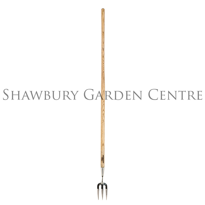 Moulton mill long handled weeding fork for Long handled garden fork