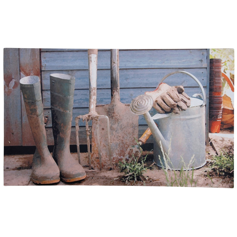 Picture of Fallen Fruits Garden Shed Print Doormat