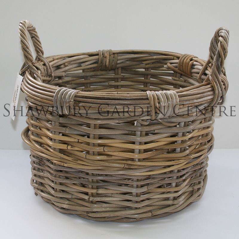 Picture of Glenweave Small Round Log Basket