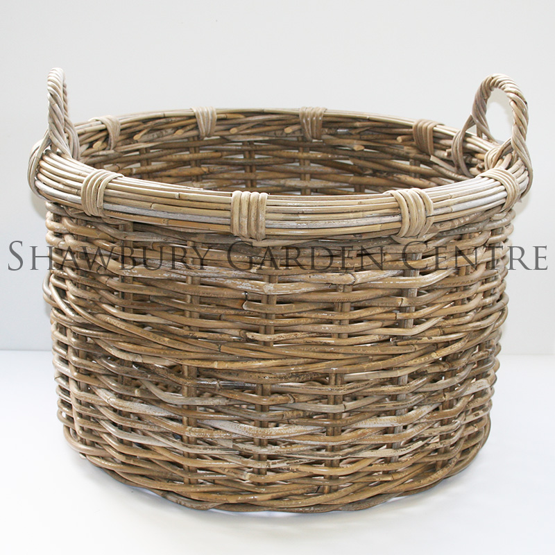 Picture of Glenweave Large Round Log Basket