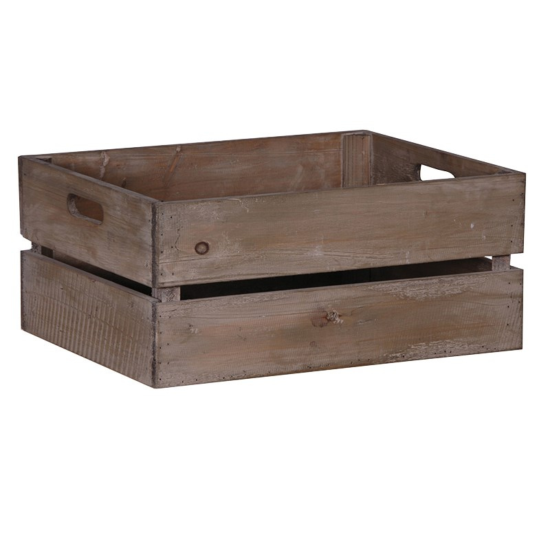 Picture of Rectangular Wooden Crate