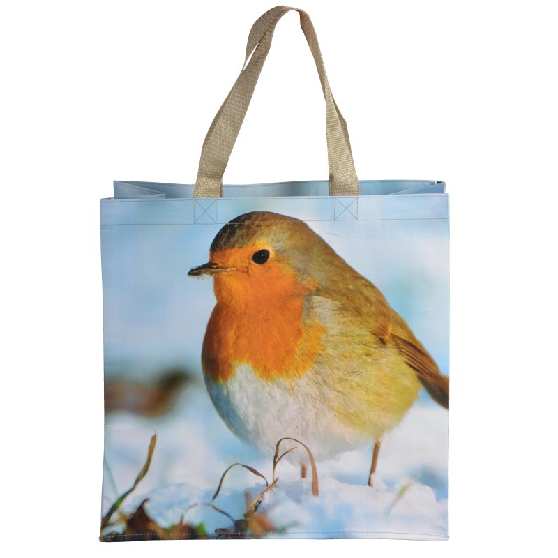 Picture of Fallen Fruits Robin Shopping Bag