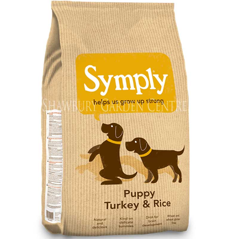 Picture of Symply Turkey & Rice Puppy Food
