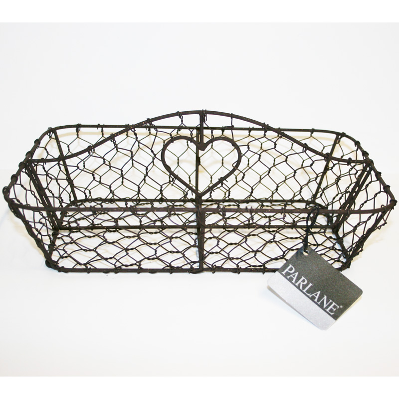 Picture of Parlane Brown Wirework Cutlery Holder