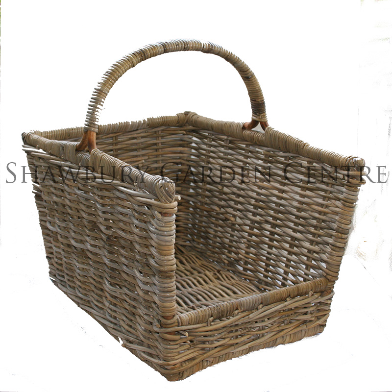 Picture of Glenweave Large Log Basket with Handle