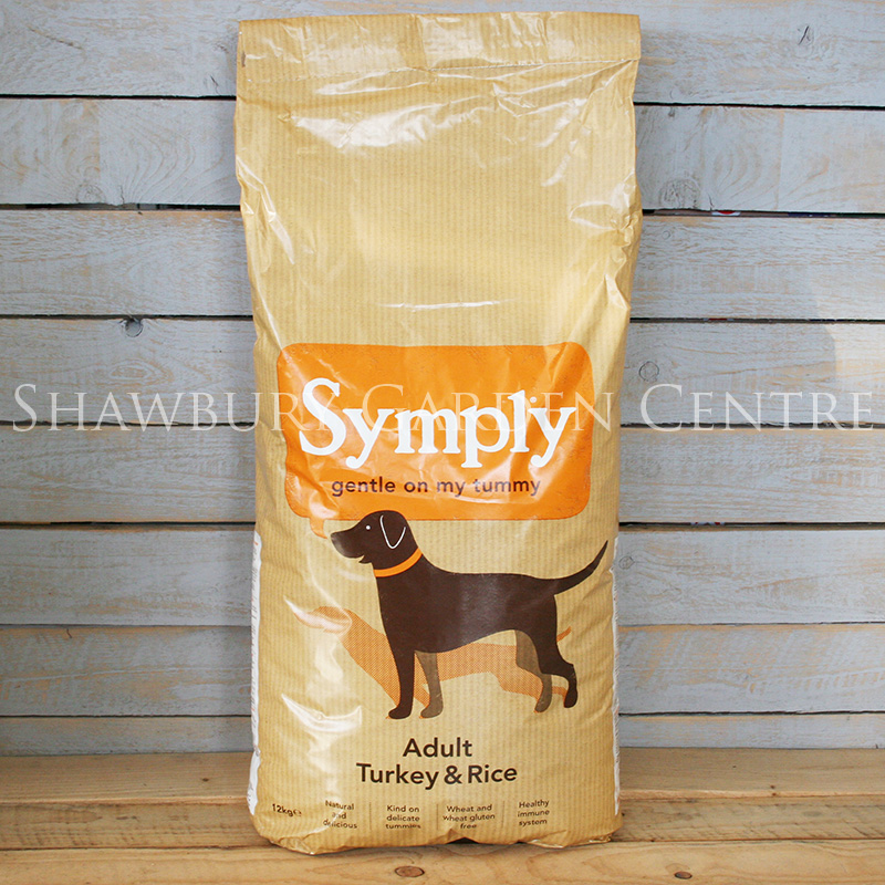 Picture of Symply Turkey & Rice Dog Food