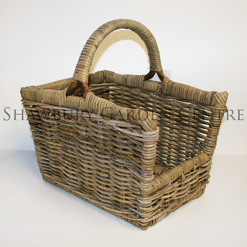 Picture of Glenweave Log Basket with Handle