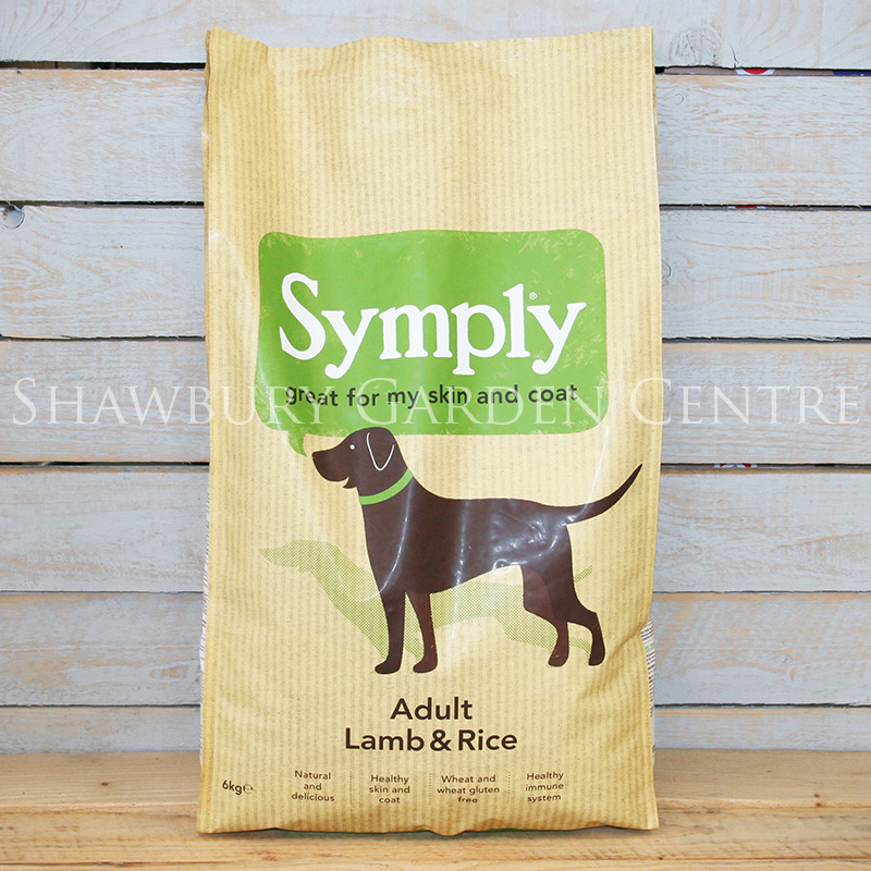 Picture of Symply Adult Lamb & Rice Dog Food