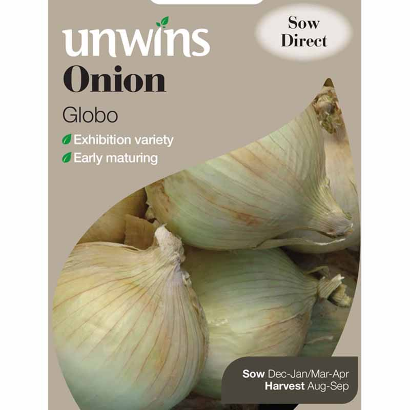 Picture of Unwins 'Globo' Onion Seeds