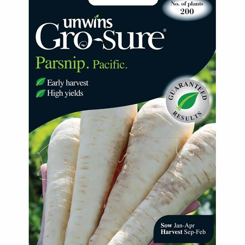 Picture of Unwins Gro-Sure® 'Pacific' Parsnip Seeds