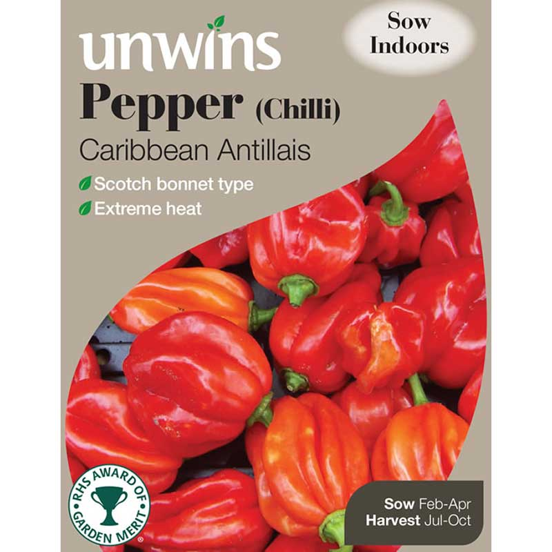 Picture of Unwins 'Caribbean Antillias' Pepper Seeds