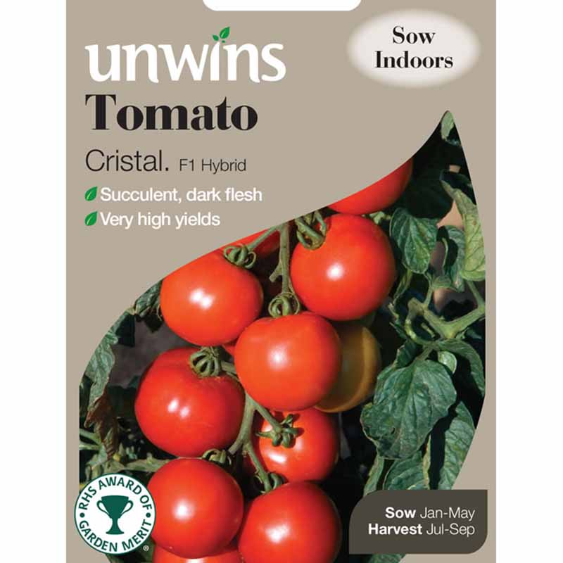 Picture of Unwins 'Cristal' Tomato Seeds