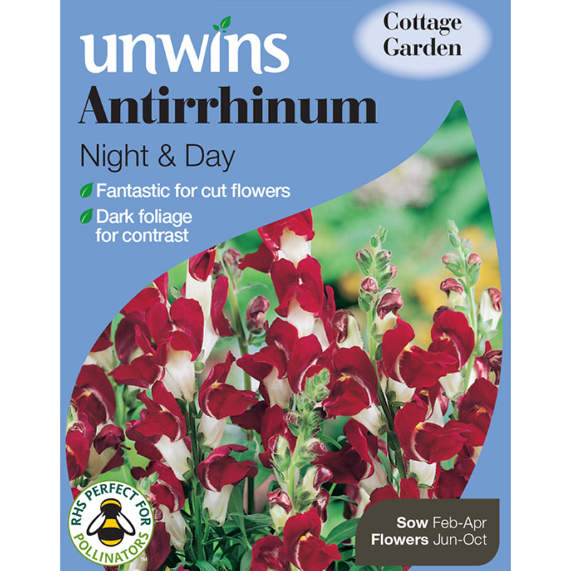 Picture of Unwins Antirrhinum Night and Day Seeds