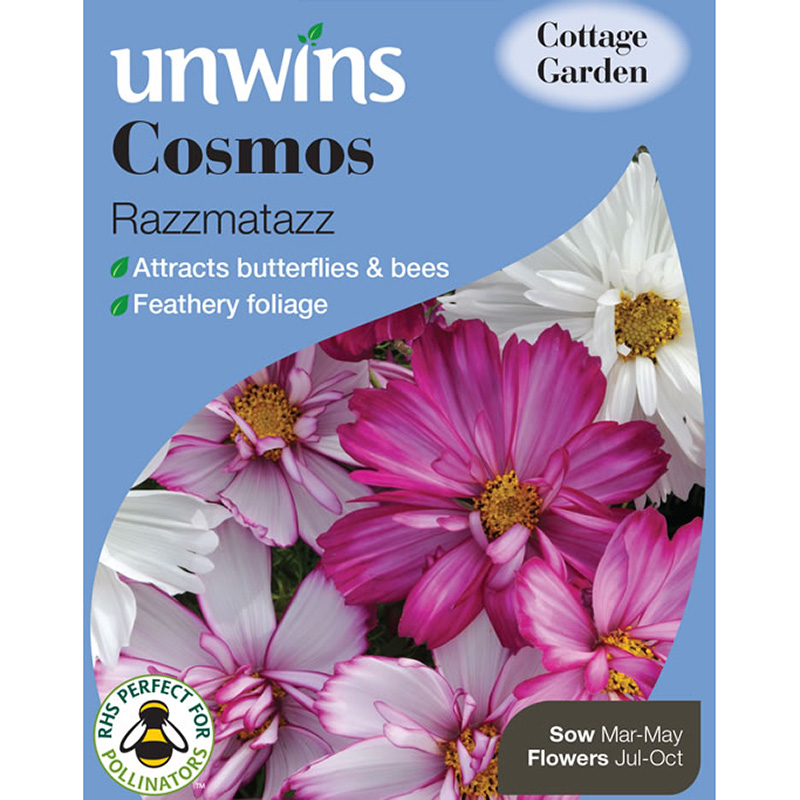 Picture of Unwins Cosmos Razzmatazz Seeds
