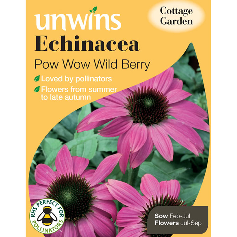 Picture of Unwins Echinacea 'Pow Wow Wild Berry' Seeds