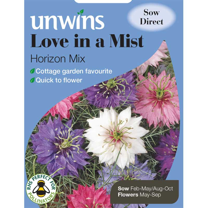 Picture of Unwins Love-in-a-Mist 'Horizon Mix' Seeds