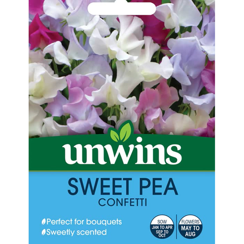 Picture of Unwins SWEET PEA 'Confetti' Seeds
