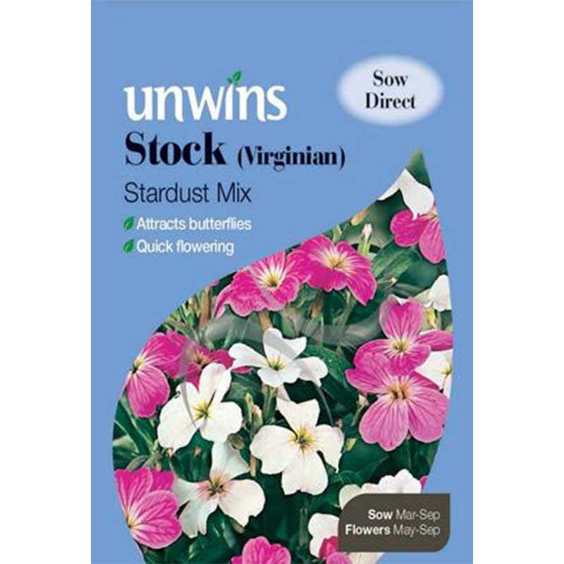 Picture of Unwins Virginian Stardust Mix Stock Seeds