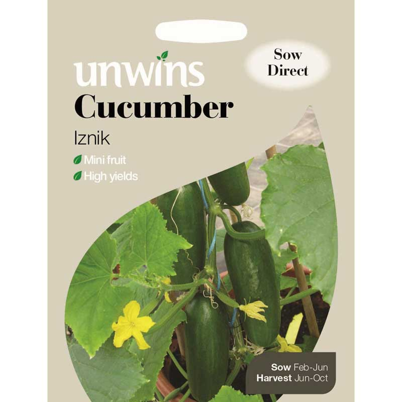Picture of Unwins Iznik Cucumber Seeds