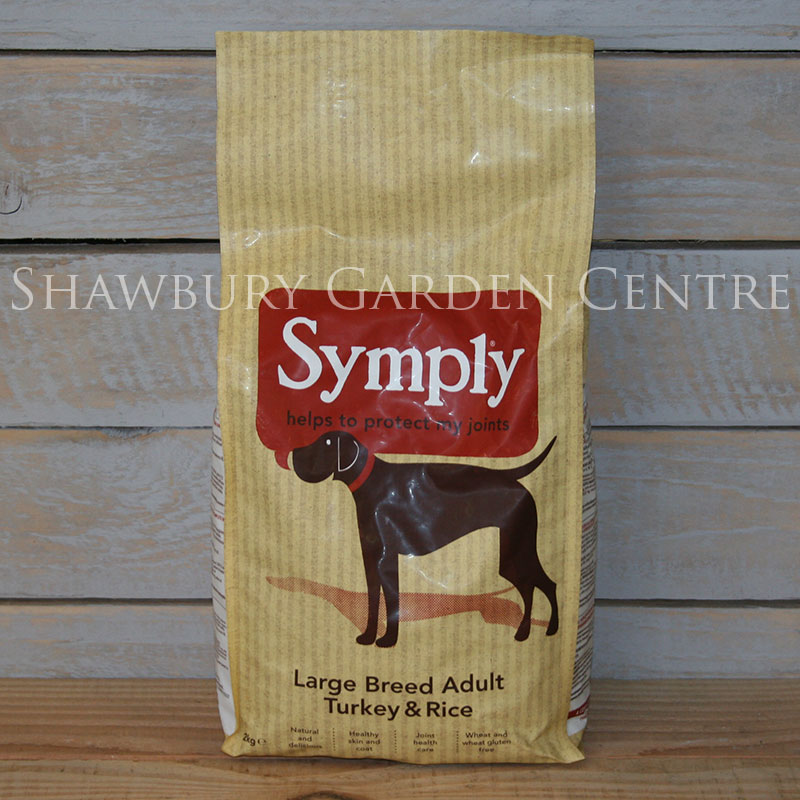 Picture of Symply Large Breed Dog Food: Turkey & Rice