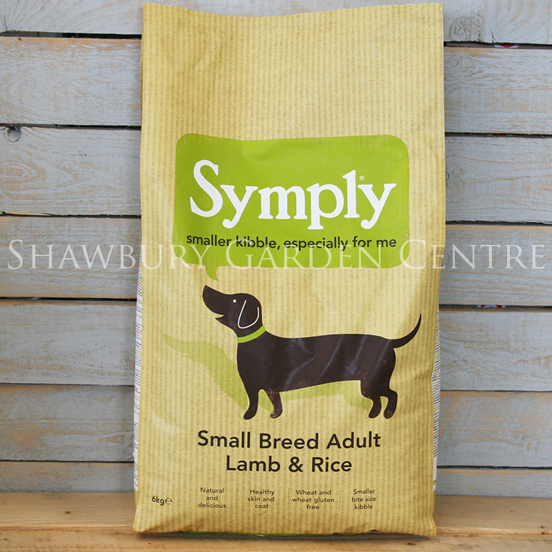 Picture of Symply Small Breed Lamb & Rice Dog Food