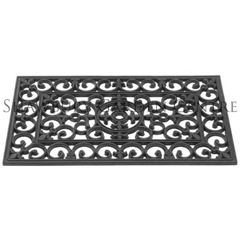 Picture of Gardman Victorian Rubber Cast Door Mat