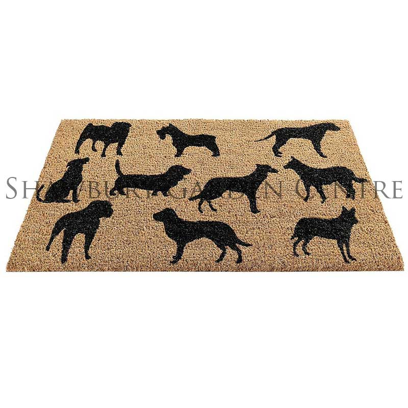 Picture of Gardman Dogs Montage Coir Door Mat