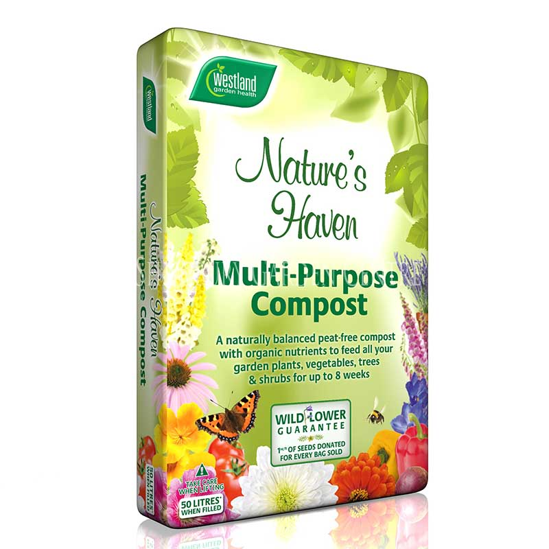 Picture of Westland Nature's Haven Peat Free Multi-Purpose Compost