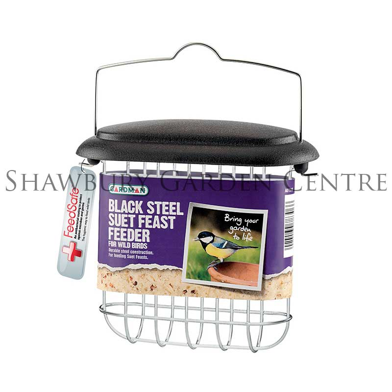 Picture of Gardman Black Steel Suet Feast Feeder