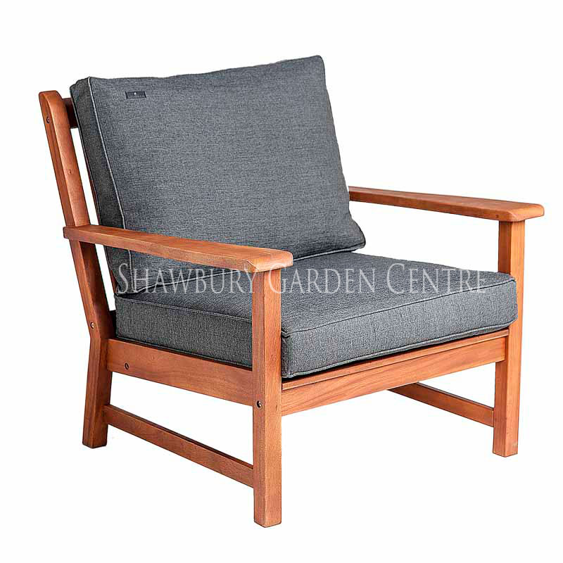 Picture of Alexander Rose Cornis Broadfield Lounge Armchair with Cushions