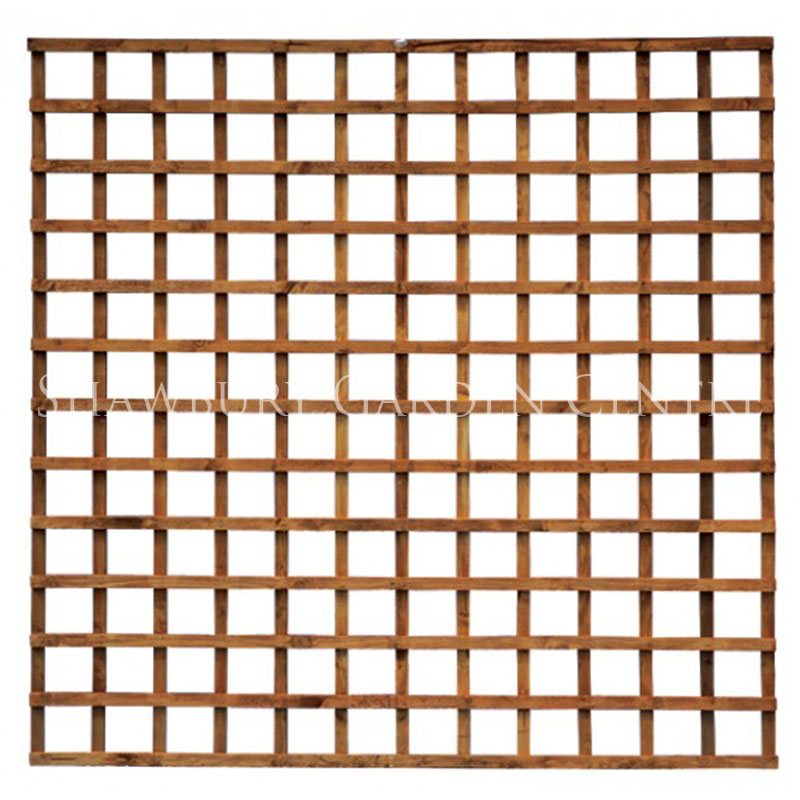 grange weston heavy duty square trellis dark brown