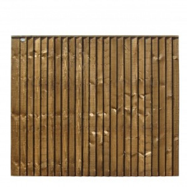 Picture of Grange Weston Closeboard Fence Panel: Brown