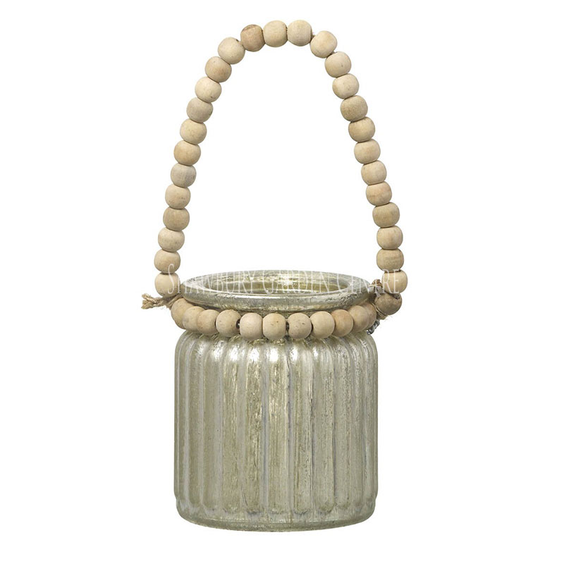 Picture of Parlane Small Tealight Lantern with Beads