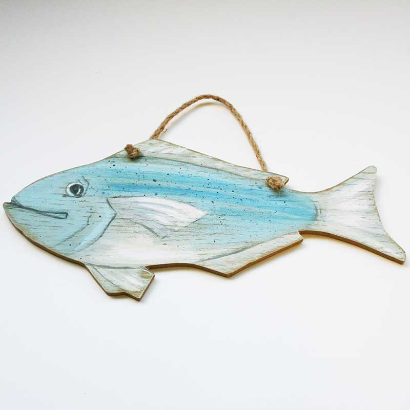 Picture of 'Gilly' Fish Wall Art by Angie Thomas