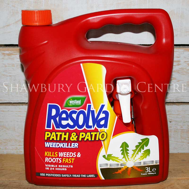 Picture of Westland Resolva Weedkiller Path & Patio Spray