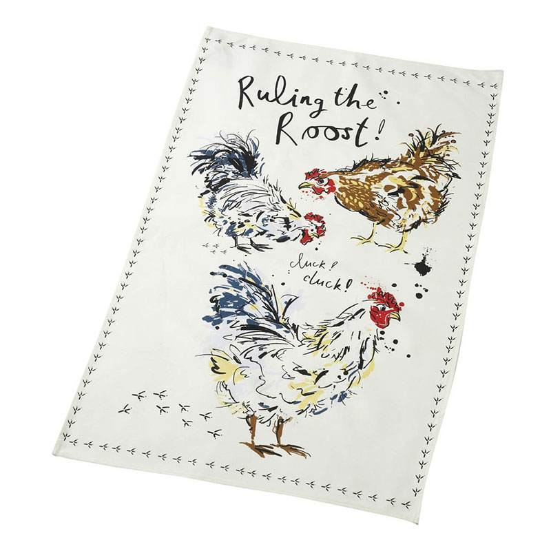 Picture of Parlane Ruling the Roost Tea Towel