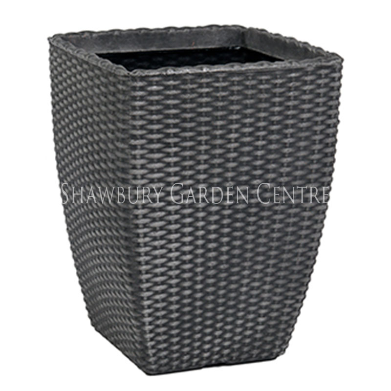 Picture of Tall 'Rattan' Planter