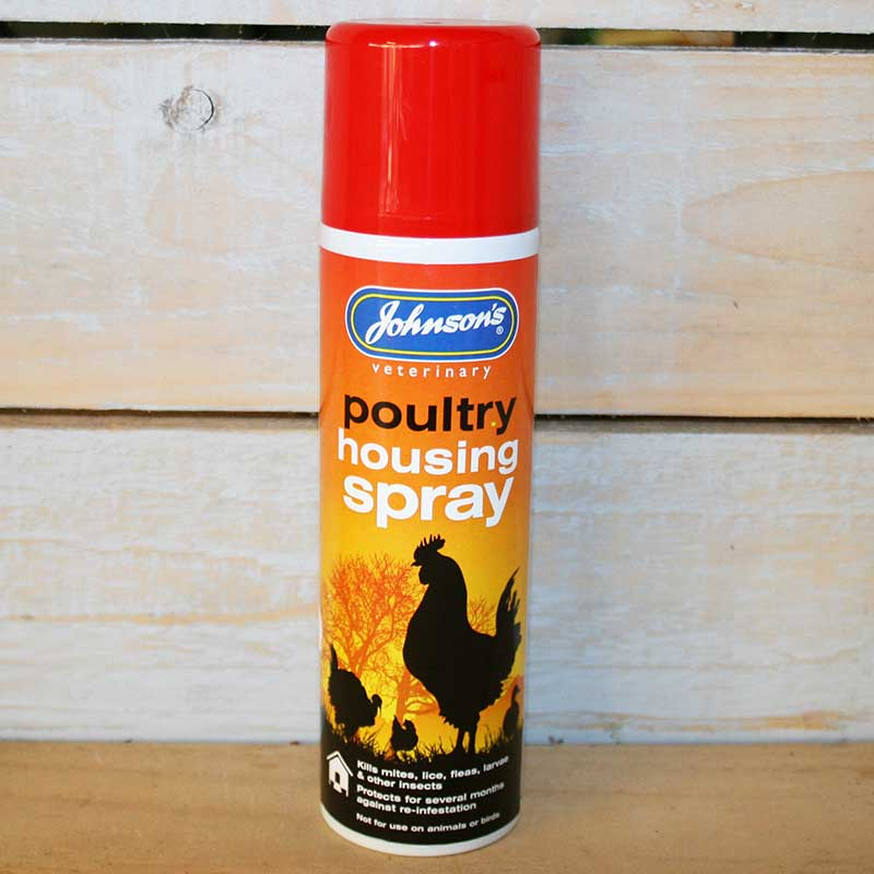 Picture of Johnson's Veterinary Poultry Housing Spray
