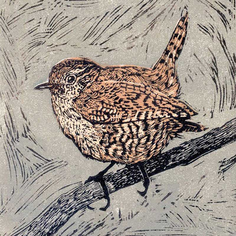 Picture of 'Wren' Card by Vanessa Lubach