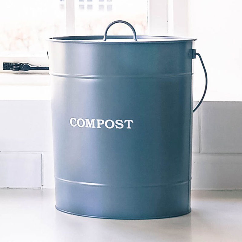 Picture of Garden Trading Large Compost Bucket - Charcoal