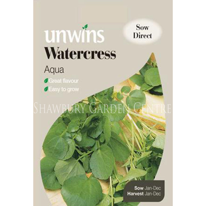 Picture of Unwins 'Aqua' Watercress Seeds