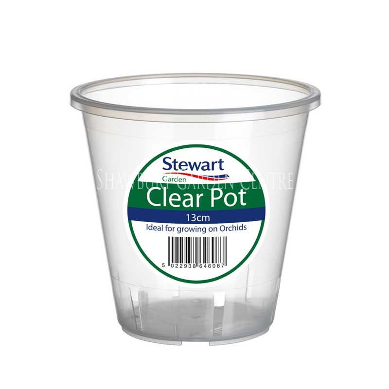 Picture of Stewart Garden Clear Orchid Pot