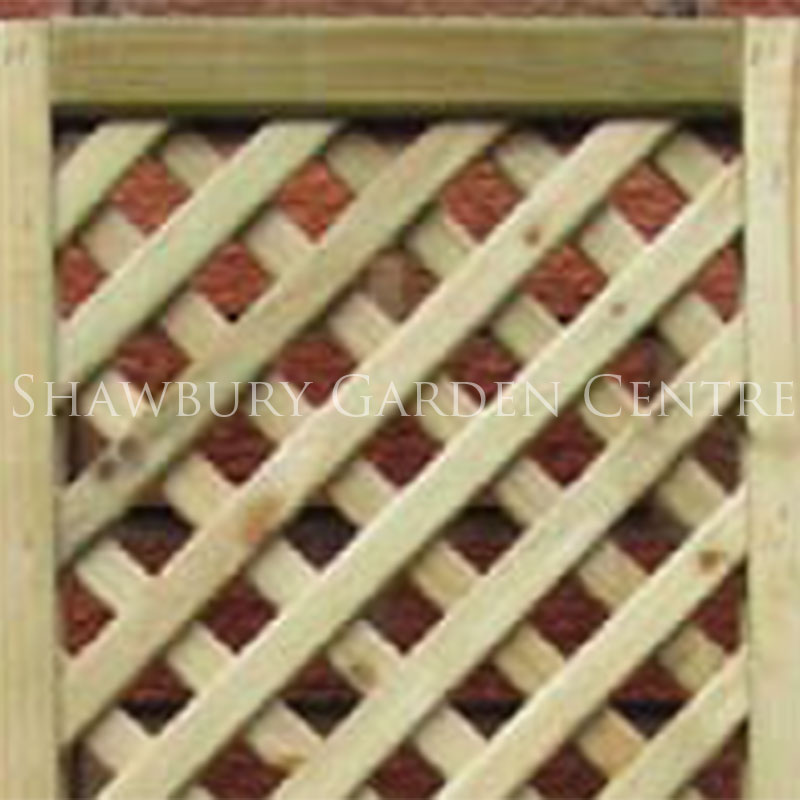 M & M Timber Thames Lattice Trellis Panel 6 x 3