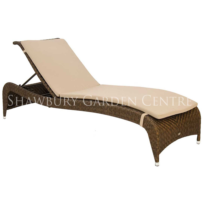Picture of Alexander Rose Ocean Fiji Adjustable Sunbed with Cushion