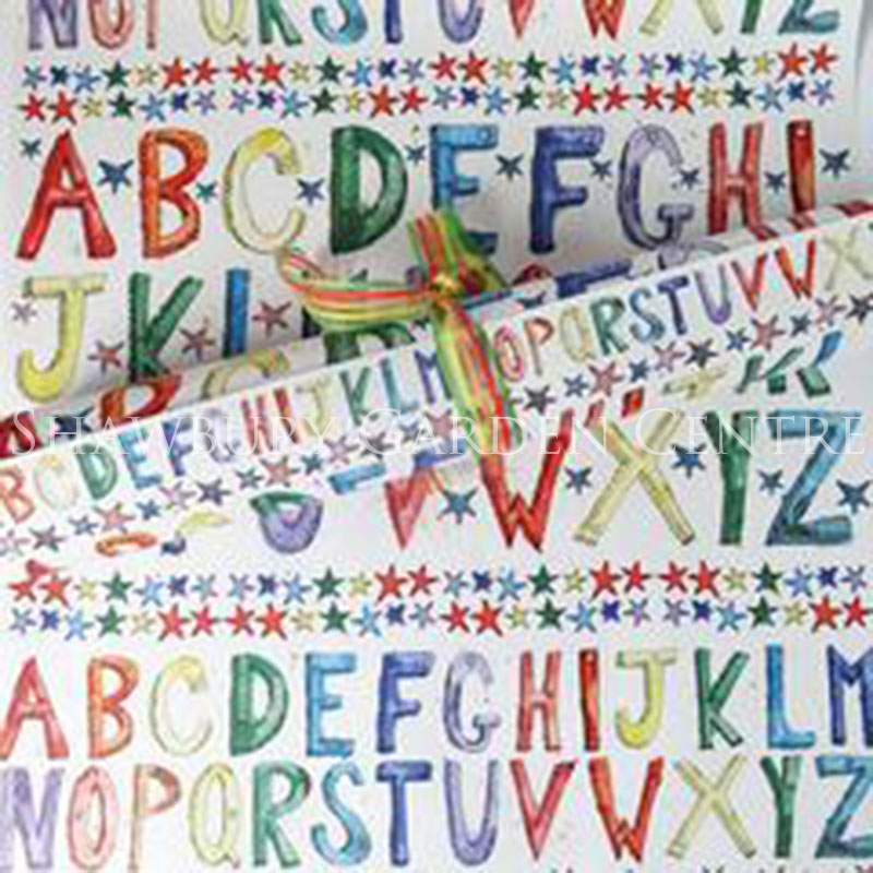 Picture of A-Z Gift Wrapping Paper
