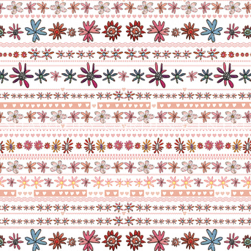 Picture of Fabulous Flowers Gift Wrapping Paper