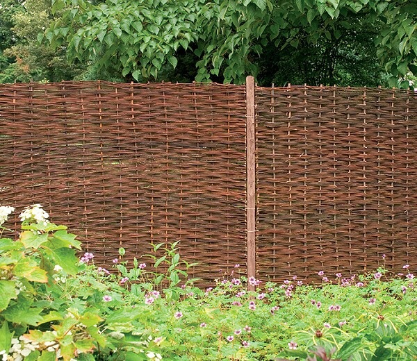 Picture of Forest Garden Willow Hurdle Fence Panel