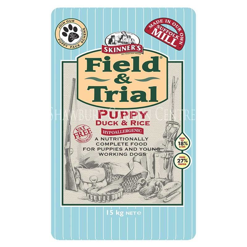 Picture of Skinners Field & Trial Puppy Duck & Rice Hypoallergenic Dog Food